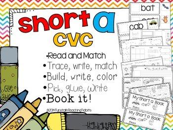Short A CVC - 5 Interactive Activities