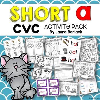 Short A CVC ~ Activity Pack