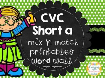 CVC Short A Flip booklet