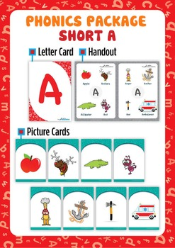 Short 'A' Phonics Resource Package