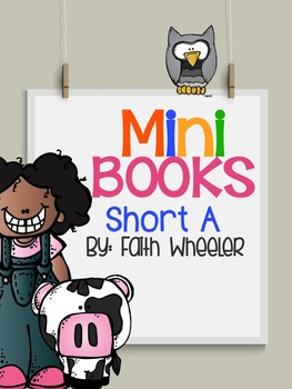 Short A Phonics Mini Books