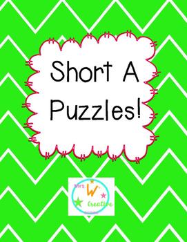 Short A Puzzles