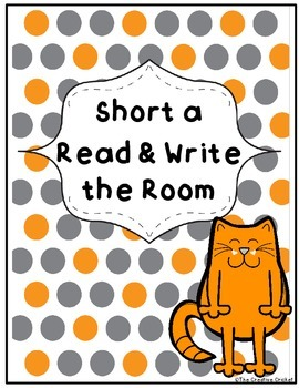 Short A Read and Write the Room / Word Sort