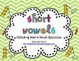 Short A Vowel Word Work Pack