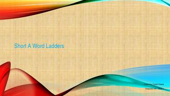 Short A Word Ladder *1st Grade Treasures