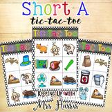 Short A Tic Tac Toe Game