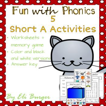 """Short """"A"""" Worksheets"""
