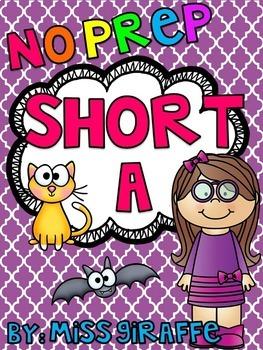 Short A Worksheets and Activities {NO PREP!}