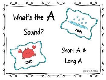 Short A and Long A Sort