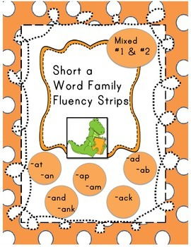 Short A word readers