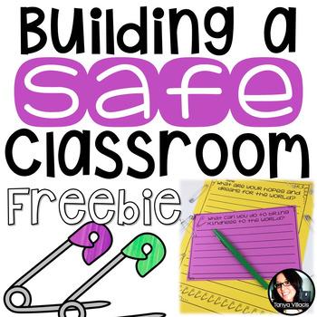 FREE NO PREP Activities for Building a SAFE Classroom Grad
