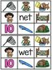 Short E Clip Cards Centers