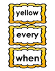 Short E Spelling Unit (Differentiated Lists and Resources)