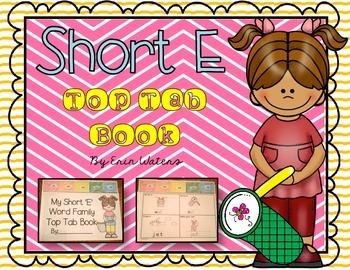 Short 'E' Top Tab Book