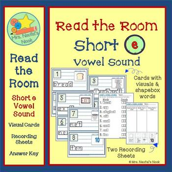 Short E Vowel Sound Read the Room