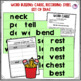 Short E Word Family Word Work and Activities