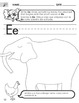 Short E Worksheet with Instructions Translated into Spanis