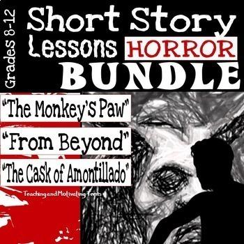 Short Horror Stories Bundle - The Monkey's Paw, Cask of Am
