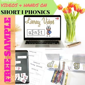 Short I Complete Phonics Spelling Unit for Multiple Learni