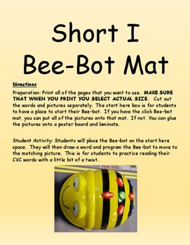 Short I Bee-Bot Mat