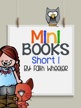 Short I Phonics Mini Books