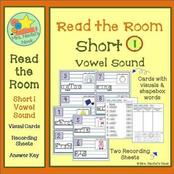 Short I Vowel Sound Read the Room