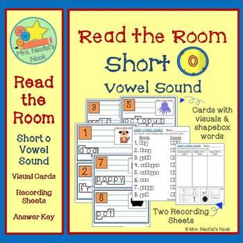 Short O Vowel Sound Read the Room