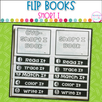 Short I Words- Flip Book