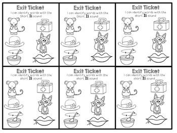 Short Ii Exit Tickets