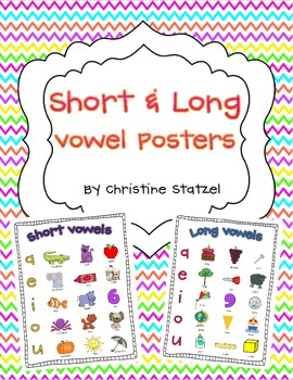 Short & Long Vowel Posters