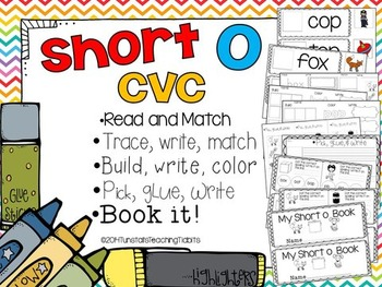 Short O CVC - 5 Interactive Activities