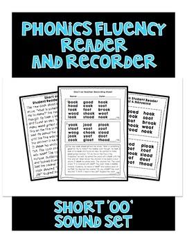 Short OO - Phonics Fluency Assessment