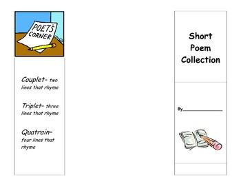 Short Poem Books (couplets, triplets, quatrains)