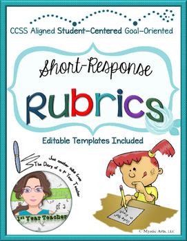 Short-Response Rubrics - Customizable Templates Included