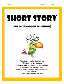 Short Story Assessment Package