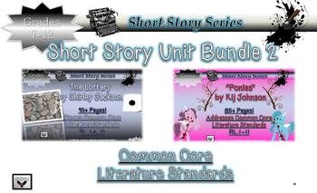 Short Story Bundle The Lottery Shirley Jackson & Ponies Ki