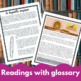 Short Story Bundle - reading activities for  French learners