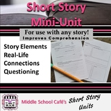 Short Story Investigation (story elements, making connecti