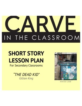 """Short Story Lesson Plan, """"The Dead Kid"""" - Carve in the Classroom"""