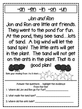 Short Story Multi Sensory Phonics
