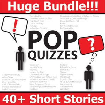 Short Stories Pop Quizzes Bundle