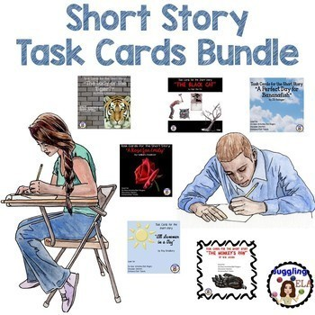 Short Story Task Card Bundle