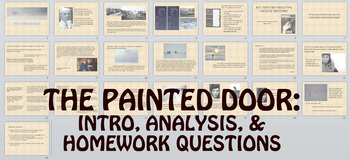 Short Story: The Painted Door by Sinclair Ross Lesson & Quiz