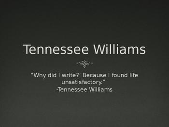 Short Tennessee Williams Prior Knowledge Bio