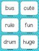 Short U & Long U (VCe) Kapow Literacy Center / Game