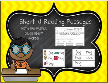 Short Vowel U Reading Passages