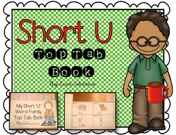 Short 'U' Top Tab Book