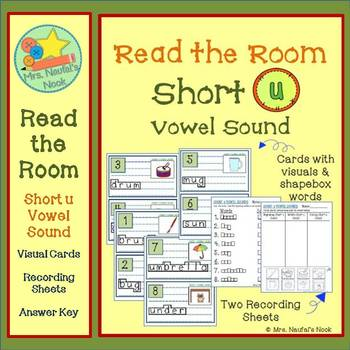 Short U Vowel Sound Read the Room