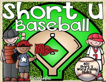Short U Word Family Baseball