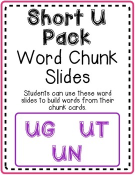 Short U Word Slides Pack